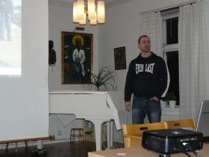 Anders Fryklund berättar om sitt arbete i Afghanistan