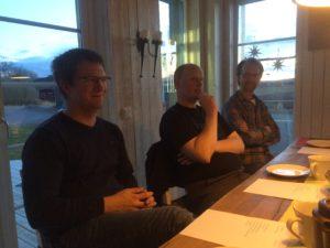 Robert, Andreas och Pär